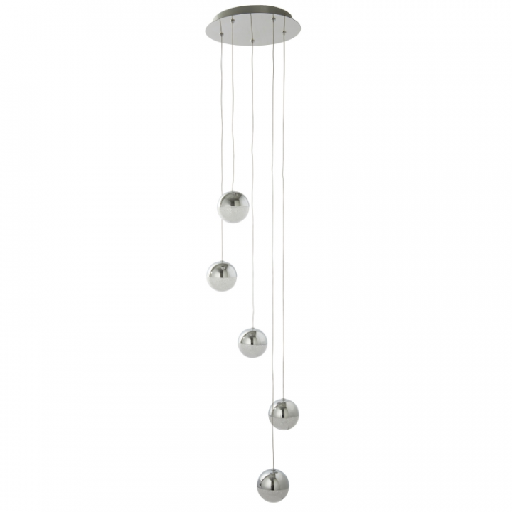 Люстра Searchlight Marbles 5845-5CC