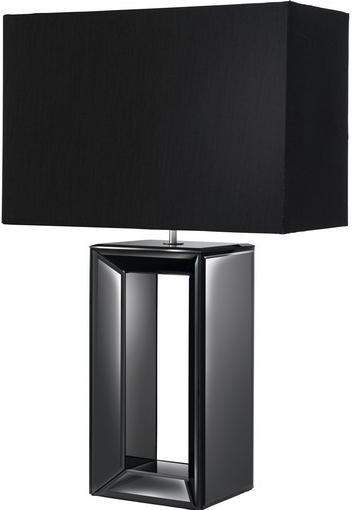 Настольная лампа Searchlight Mirror EU1610BK