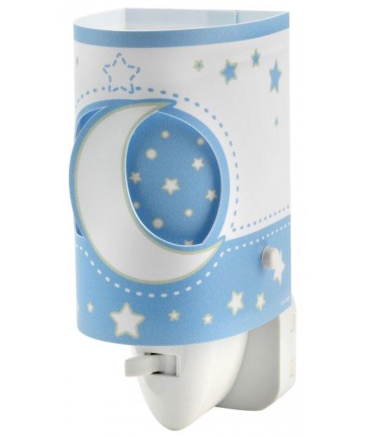 Детский ночник в розетку Dalber MOONLIGHT Blue 63235LT