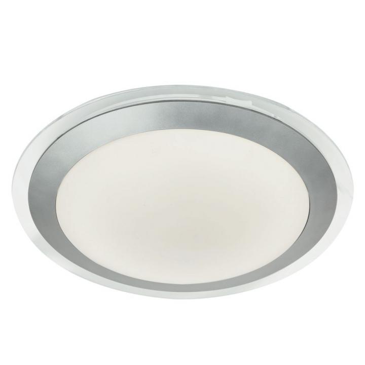 Потолочный светильник Searchlight LED BATHROOM 7684-33SI