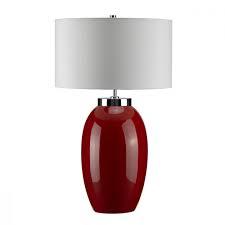 Настільна лампа Elstead VICTOR RED LARGE VICTOR LRG/TL RD