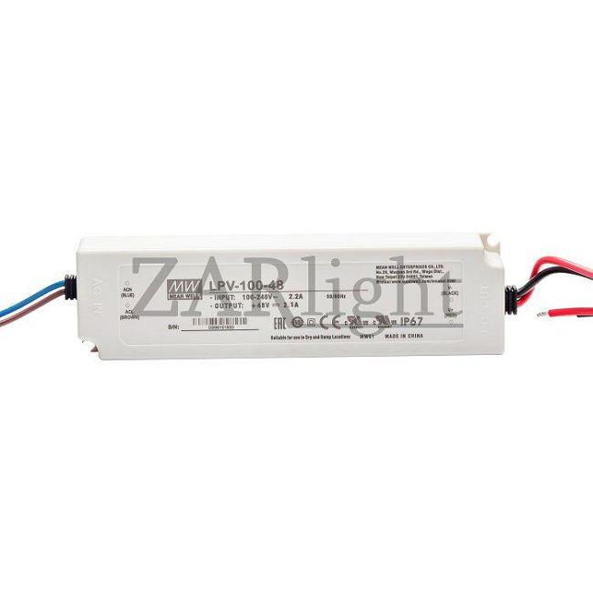Блок питания ZarLight Meanwell LPV-100-48V 033-100Z