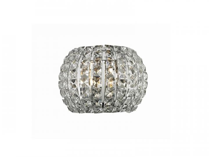 Бра AZzardo SOPHIA AZ2520 (50242W crystal / metal / chrome)
