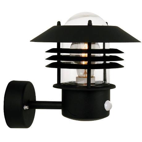 Настінний вуличний світильник Nordlux Vejers Sensor 25101003