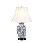 Настільна лампа Elstead BLUE GINGER JAR BLUE G JAR/TL