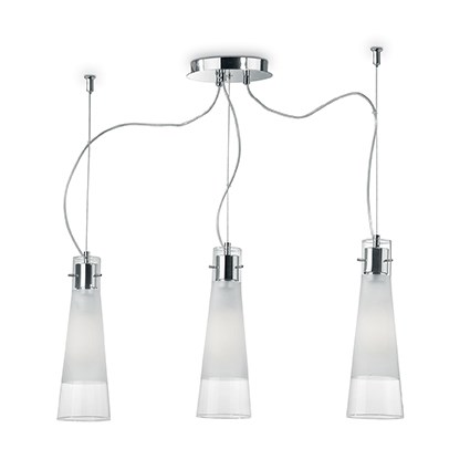 Люстра Ideal Lux Kuky Clear 033952