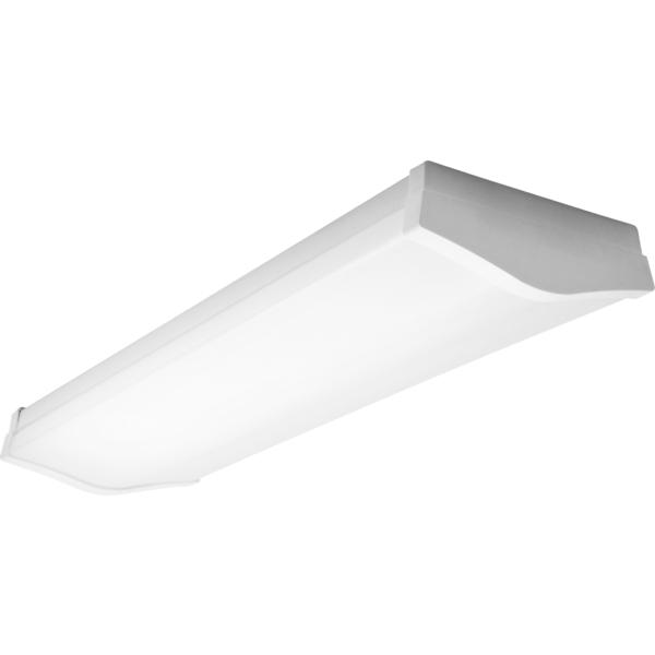 Промышленный светильник Lug Raylux opal 2х14W T5 с датчиком движения