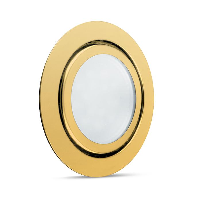 Светодиодный светильник Feron LN7 3W золото 28864