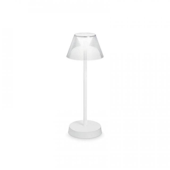 Аккумуляторная настольная лампа Ideal Lux LOLITA 250281