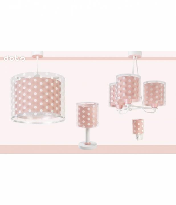Настільна лампа Dalber DOTS CORAL 41001S