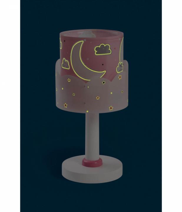 Настільна лампа Dalber MOON PINK 61231S