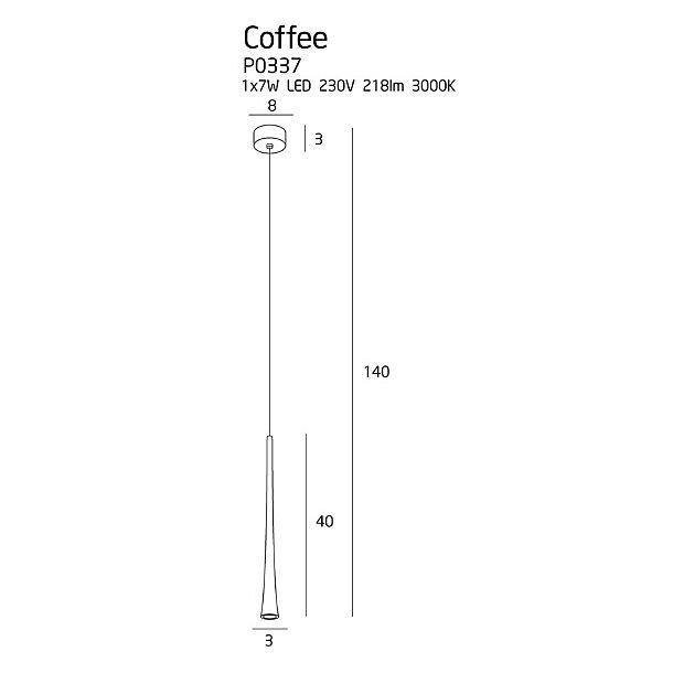 Люстра Maxlight COFFEE P0337