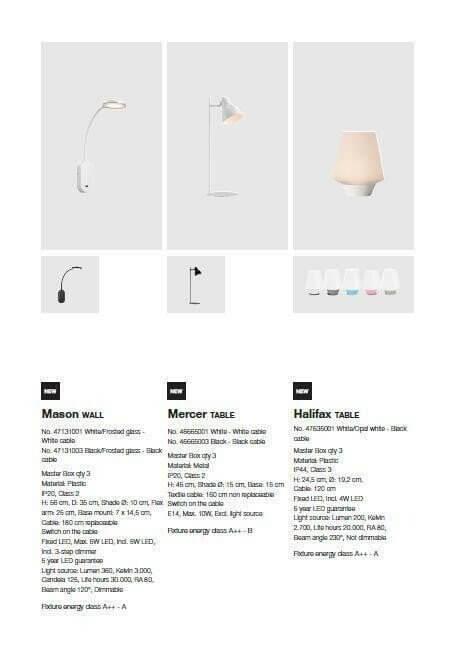 Декоративний вуличний світильник Nordlux HALIFAX 47635001