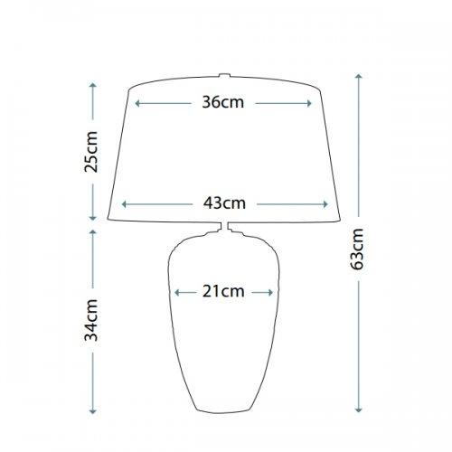 Настільна лампа Elstead POSEIDON POSEIDON/TL