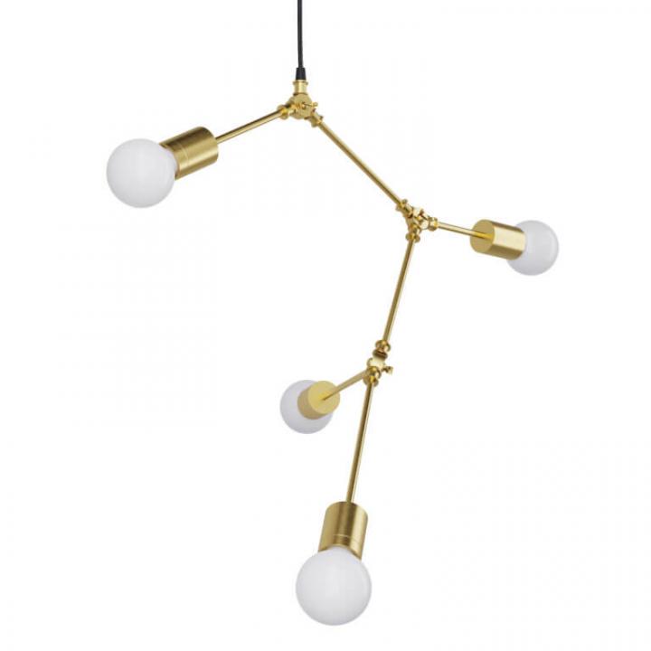 Люстра Pikart Brass&Glass 23712-1