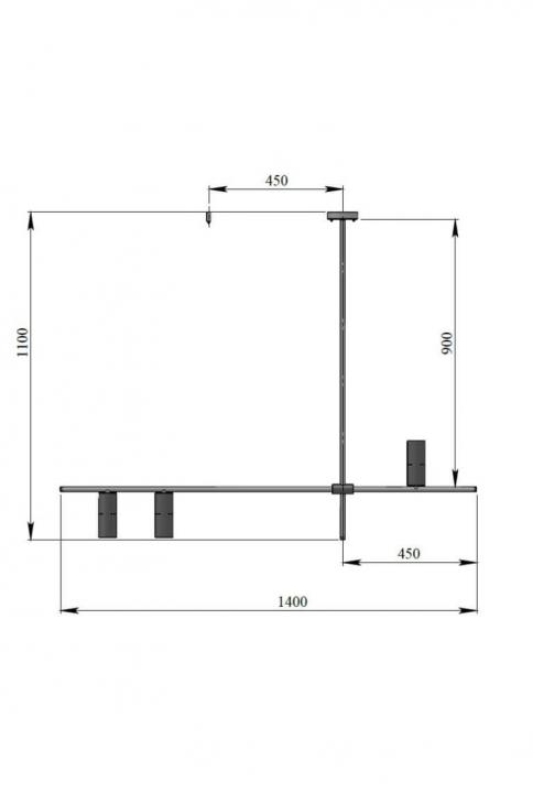 Люстра Pikart Constructio L 24253-1