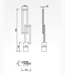 Настільна лампа Mantra MURAL 6562