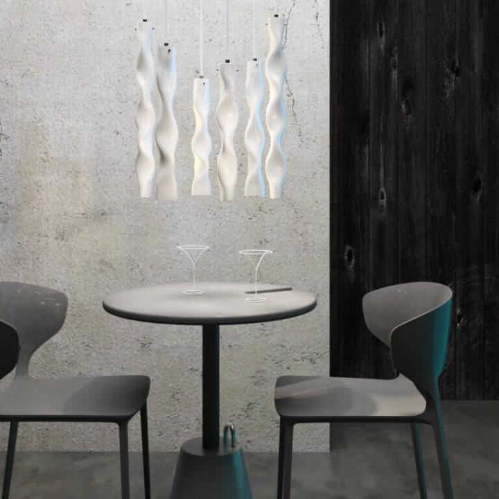 Люстра Ceramika Design WAVY SAPPHIRE 25075-4