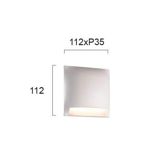 Настінний вуличний світильник Viokef MODE 4223900