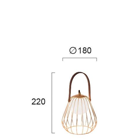 Настільна лампа Viokef LEVIK 4195700