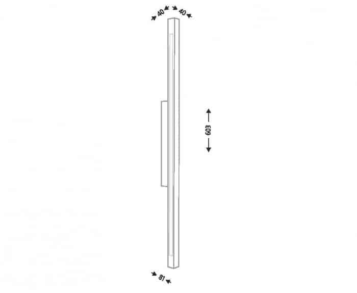 Настінний світильник SHILO OTARU 8087