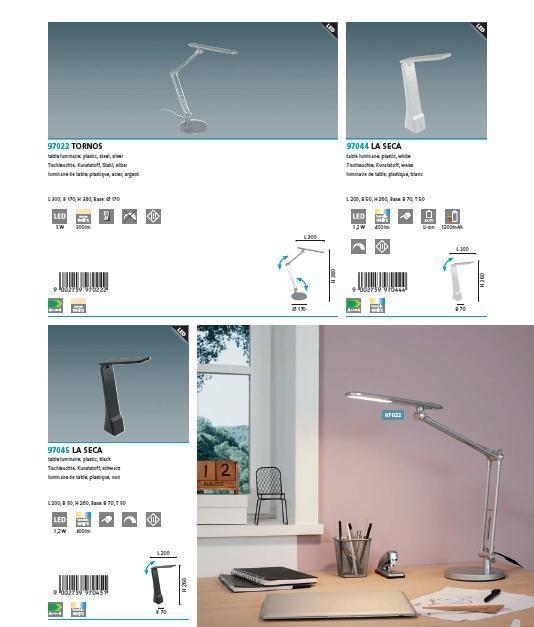 Настільна лампа Eglo LA SECA 97045