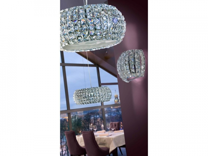 Бра AZzardo SOPHIA AZ2520 (50242W crystal / metal / chrome)
