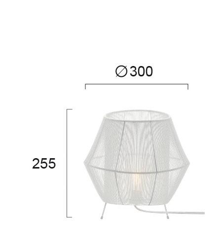 Настільна лампа Viokef ZAIRA 4214201