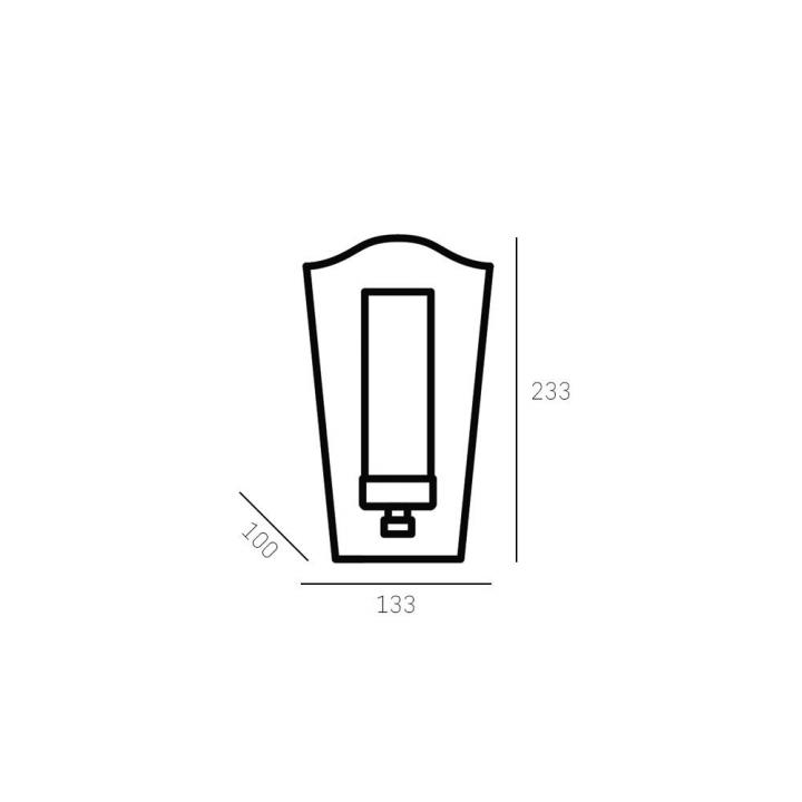 Бра CosmoLight DUBLIN W01162BZ