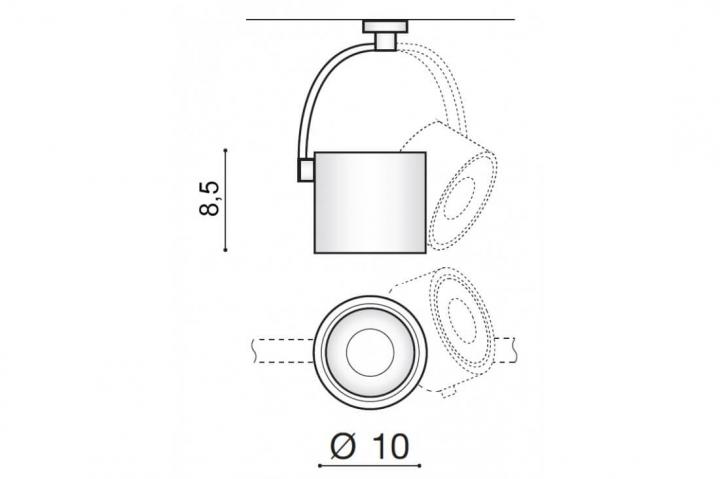 Потолочный светильник AZzardo COSTA AZ2702
