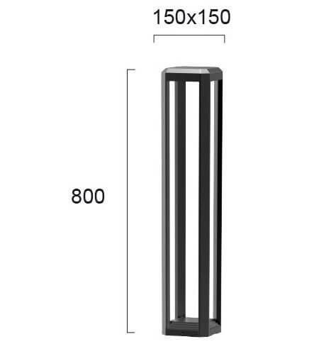 Вуличний ліхтар Viokef BIOS 4213100