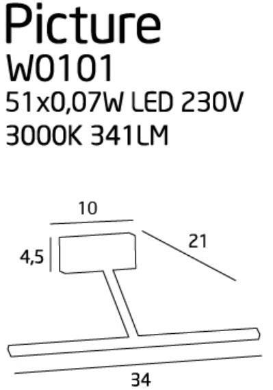 Подсветка Maxlight PICTURE W0102