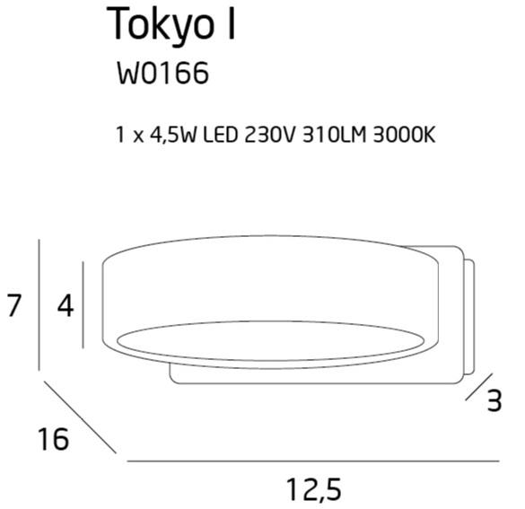 Бра Maxlight TOKYO I W0166
