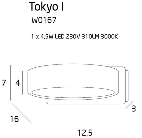Бра Maxlight TOKYO I W0167
