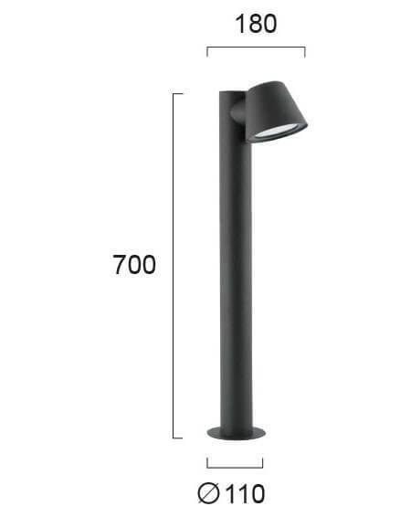 Вуличний ліхтар Viokef MARC 4176500