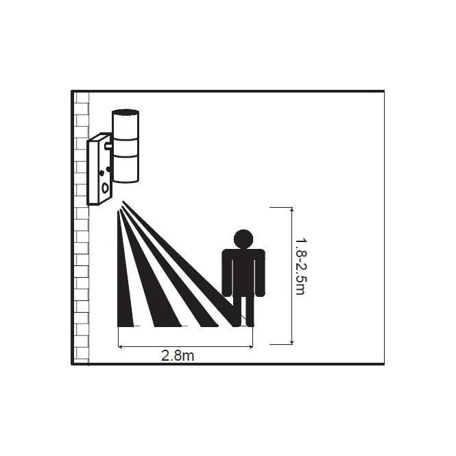 Настінний вуличний світильник Searchlight LED OUTDOOR 7008-2SS-LED