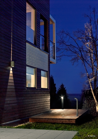 Настенный уличный светильник Norlys Lillehammer 1581GR