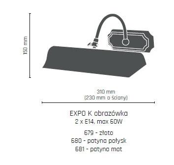 Бра Amplex EXPO K 680