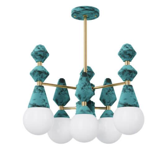 Люстра Pikart Dome chandelier V6 5112-3