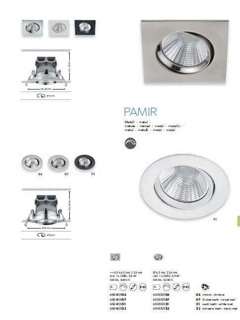 Точечный светильник TRIO Zagros 650710132