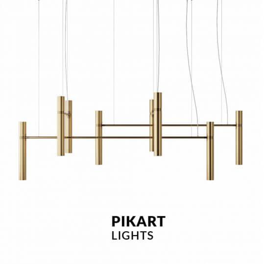 Люстра Pikart Tube chandelier 5299-1