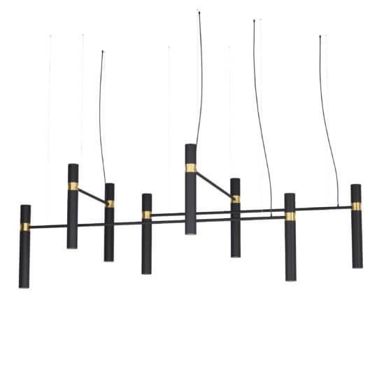 Люстра Pikart Tube chandelier 5299-25
