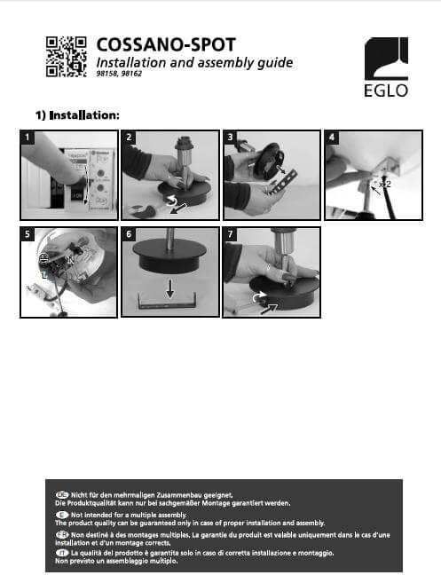 Бра Eglo COSSANO-SPOT 98162