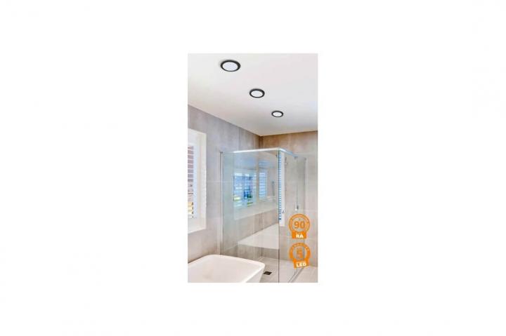 Точечный светильник AZzardo SLIM 9 ROUND IP44 4000K AZ2835