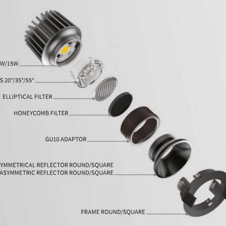 Перехідник Ideal Lux DYNAMIC LED BULB GU10 ADAPTER 208657