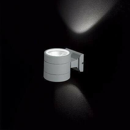 Настінний вуличний світильник Ideal Lux SNIF ROUND 061474