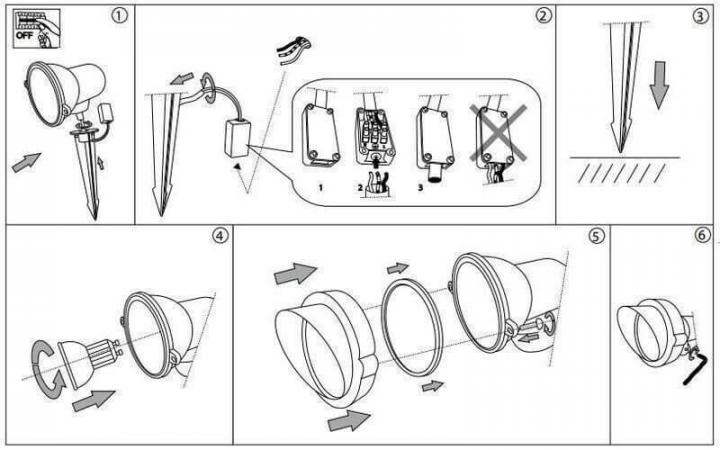 Архитектурный светильник Ideal Lux TERRA 163727