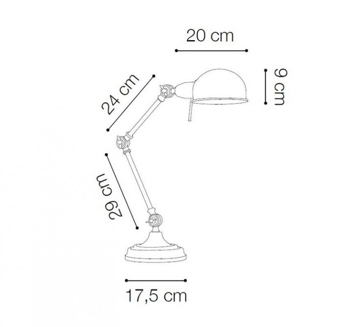 Настільна лампа Ideal Lux Truman 145198