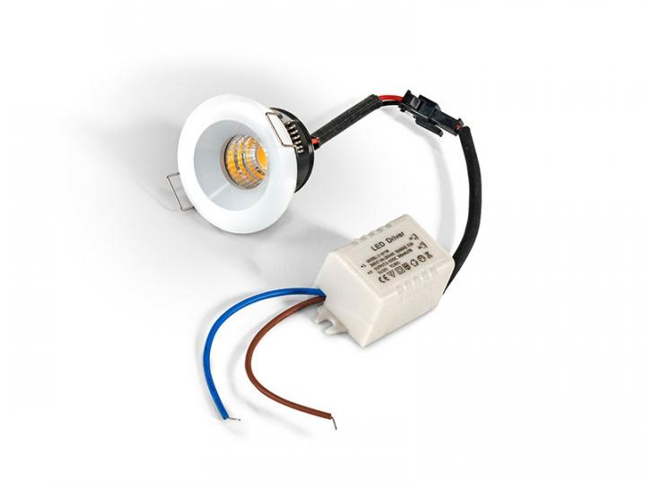 Точечный светильник AZzardo OKA AL AZ2232 (SHAL3W3000WH)