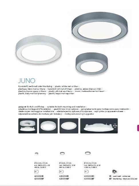 Точечный светильник TRIO JUNO 625501287